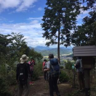 四尾山山頂(標高287m)